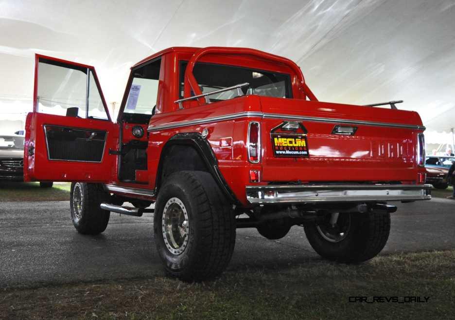 1970 Ford Bronco V8 Pickup 38