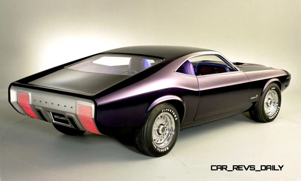 medium resolution of  1970 ford mustang milano concept