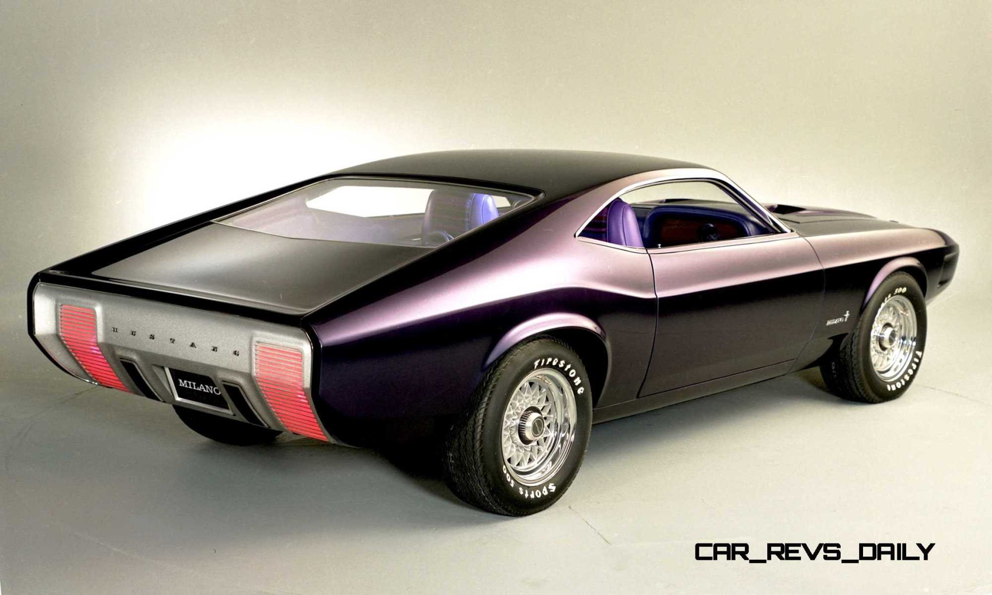 hight resolution of  1970 ford mustang milano concept