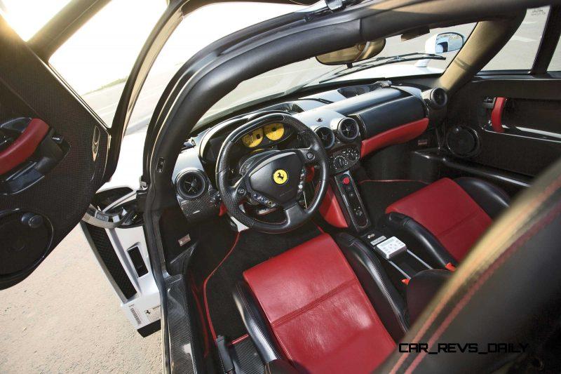 2003 Ferrari Enzo Silver 17