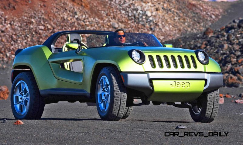 Open Jeep Car Wallpaper 2008 Jeep Renegade Concept