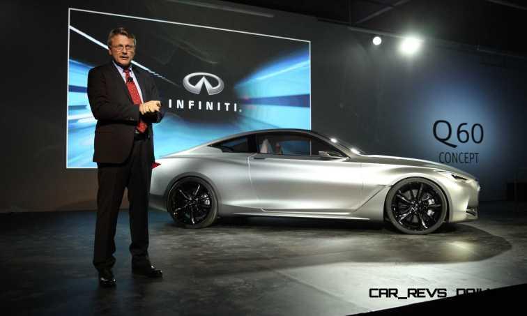 Infiniti reveals the Q60 Concept in Detroit