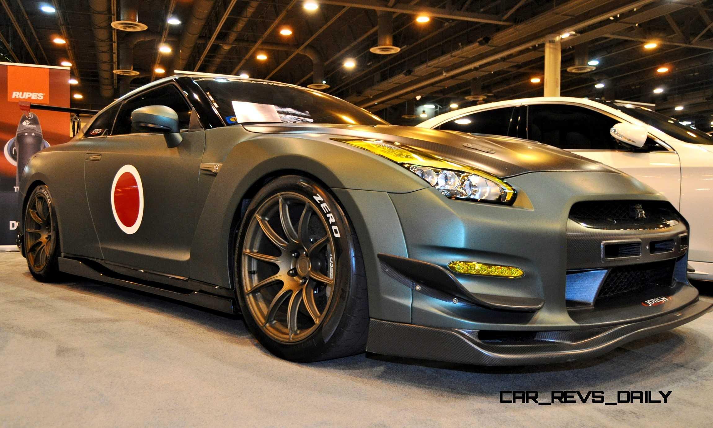 2015 Nissan GTR in Imperial Japanese Army Zero WarPaint