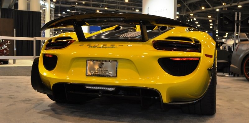 2015 Porsche 918 Spyder Weissach Package with XPEL Paint Protection 3