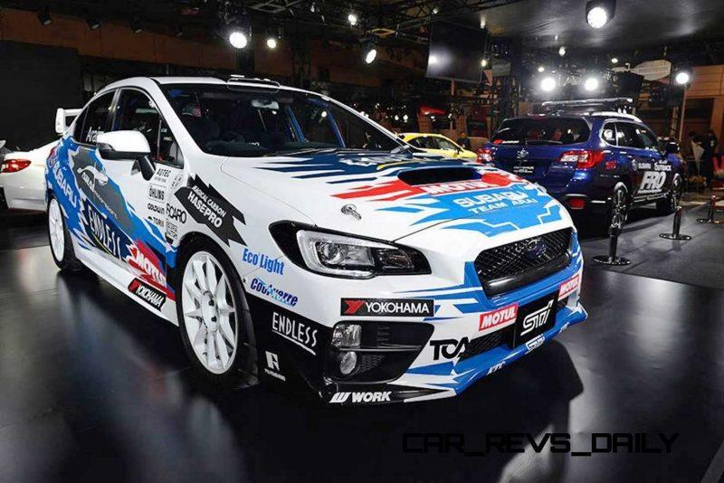 2015 Subaru WRX STi Rally Racecars 32
