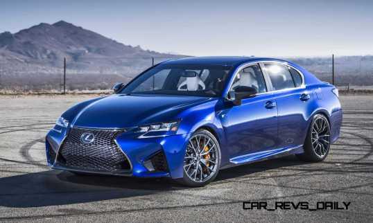 2016 Lexus GS F 1
