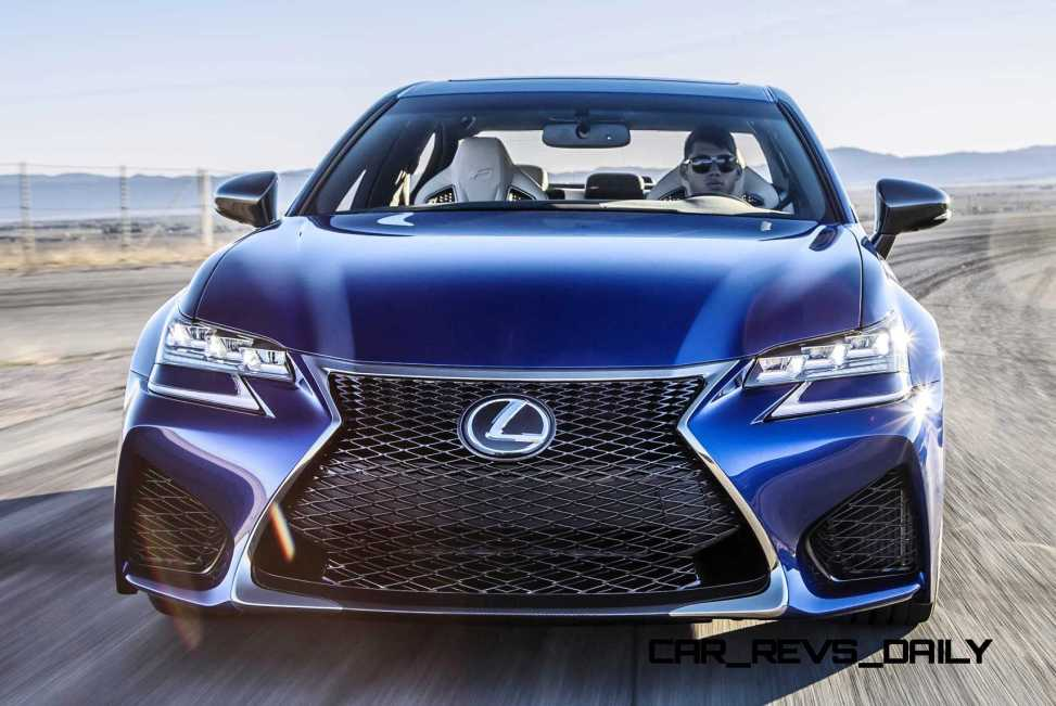 2016 Lexus GS F 34
