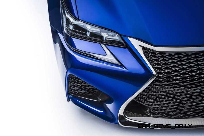 2016 Lexus GS F 9