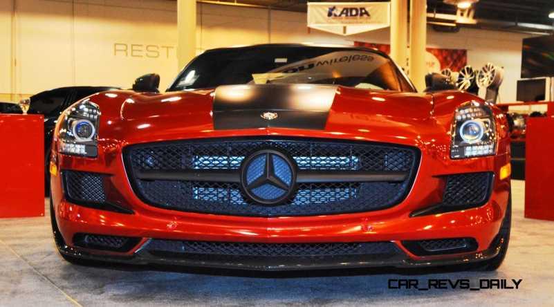 AMG SLS Roadster by IKON Wraps 16