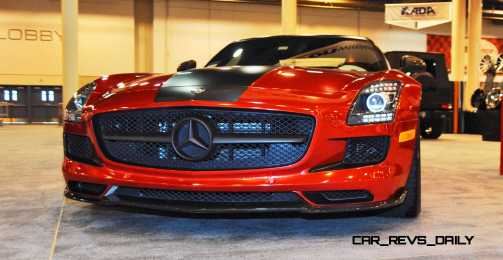 AMG SLS Roadster by IKON Wraps 18