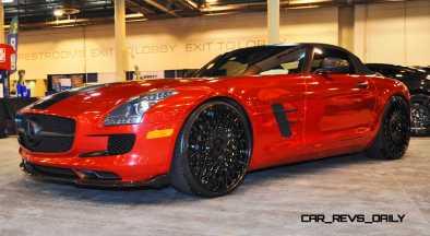 AMG SLS Roadster by IKON Wraps 2