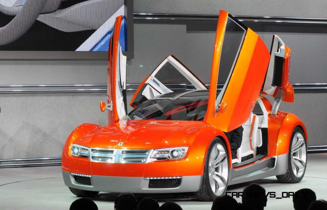 2008 Dodge ZEO Concept World DebutDetroit - January 14, 2008 -