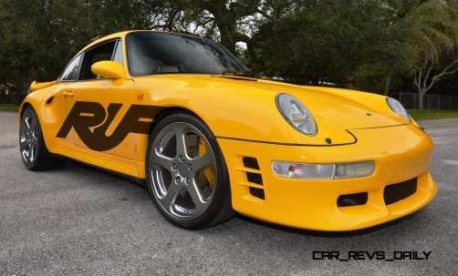 Fantasy Supercar Renderings - RUF Porsche 993 Turbo RS 2