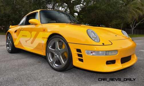 Fantasy Supercar Renderings - RUF Porsche 993 Turbo RS 3