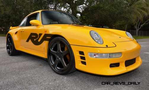 Fantasy Supercar Renderings - RUF Porsche 993 Turbo RS 4