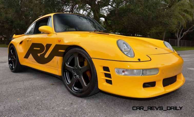 Fantasy Supercar Renderings - RUF Porsche 993 Turbo RS 5