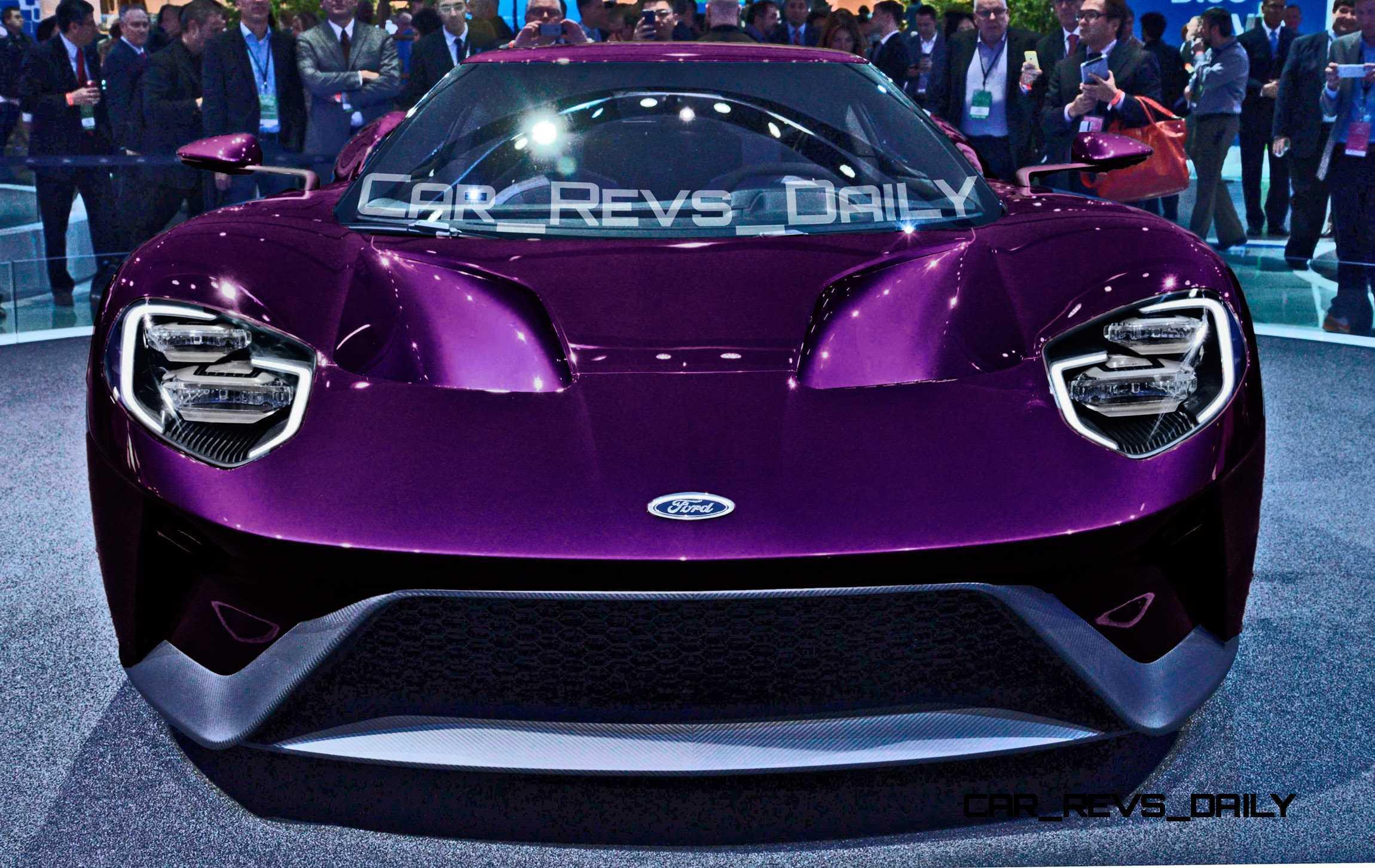2017 Ford Gt Digital Colorizer