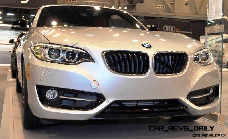 Houston Auto Show - 2015 BMW 228i xDrive Convertible in Luxury Trim 3