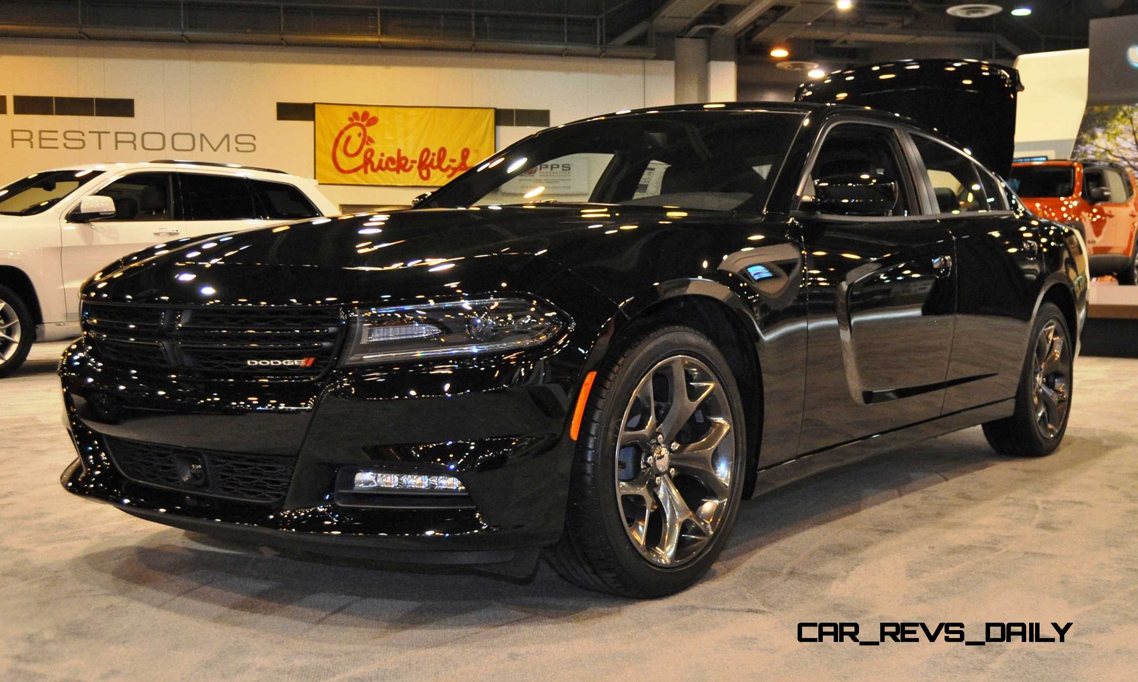 Best Looking Car Wallpaper Houston Auto Show 2015 Dodge Charger