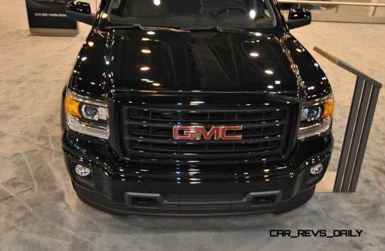 Houston Auto Show - 2015 GMC Sierra Elevation Edition 11