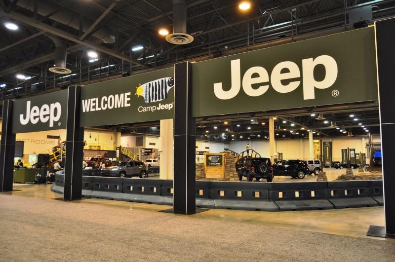 Houston Auto Show - Camp JEEP 29