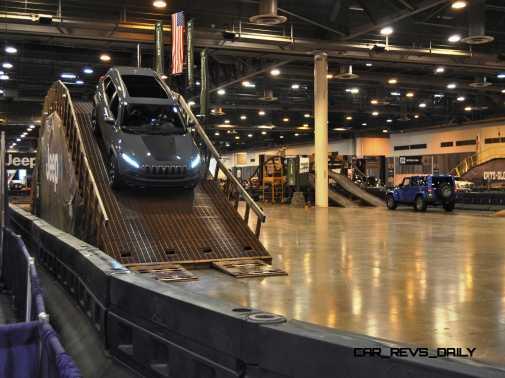 Houston Auto Show - Camp JEEP 8