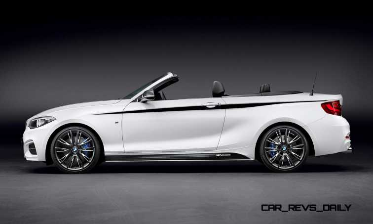 M Performance Parts for the BMW 2 Series Convertible 10