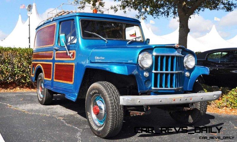 Mecum 2015 Florida Faves - 1962 Willys JEEP Utility Wagon 9 - Copy