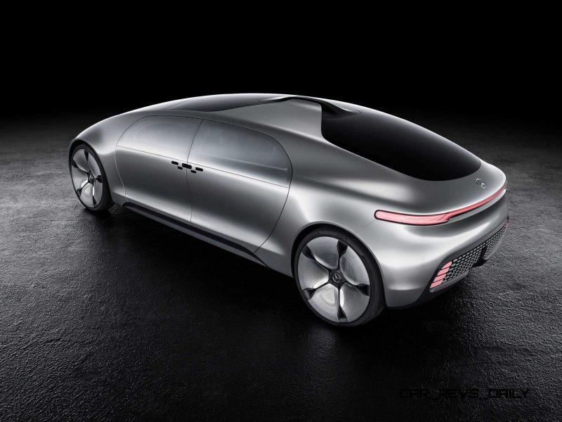 Mercedes-Benz F 015 Concept 35