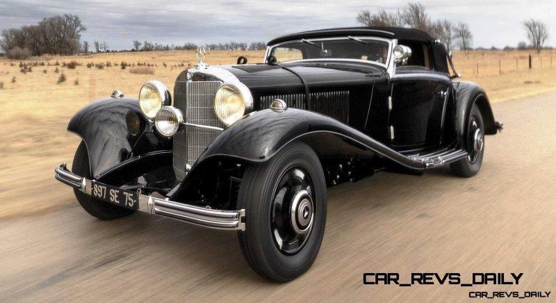 1935 Mercedes-Benz 500-540K Cabriolet A by Sindelfingen 15