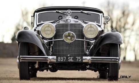 1935 Mercedes-Benz 500-540K Cabriolet A by Sindelfingen 18