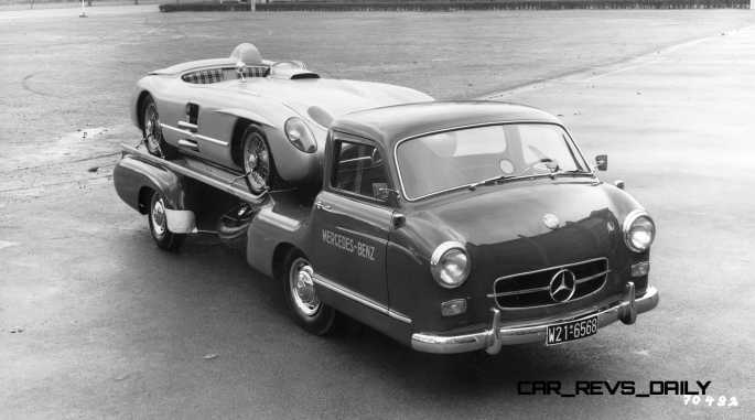 1954 Mercedes-Benz 'Blue Wonder' Race Transporter 42