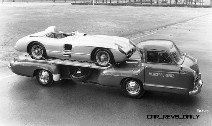 1954 Mercedes-Benz 'Blue Wonder' Race Transporter 43