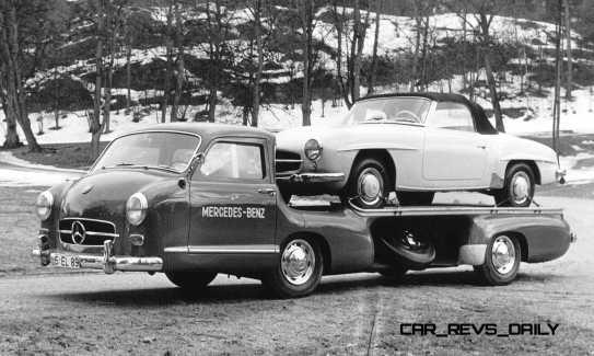 1954 Mercedes-Benz 'Blue Wonder' Race Transporter 58