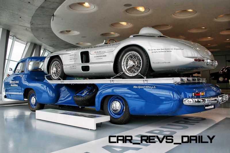 1954 Mercedes-Benz 'Blue Wonder' Race Transporter 62