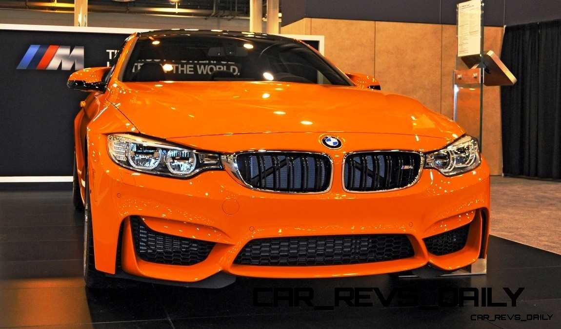 2015 BMW M4 Fire Orange 2