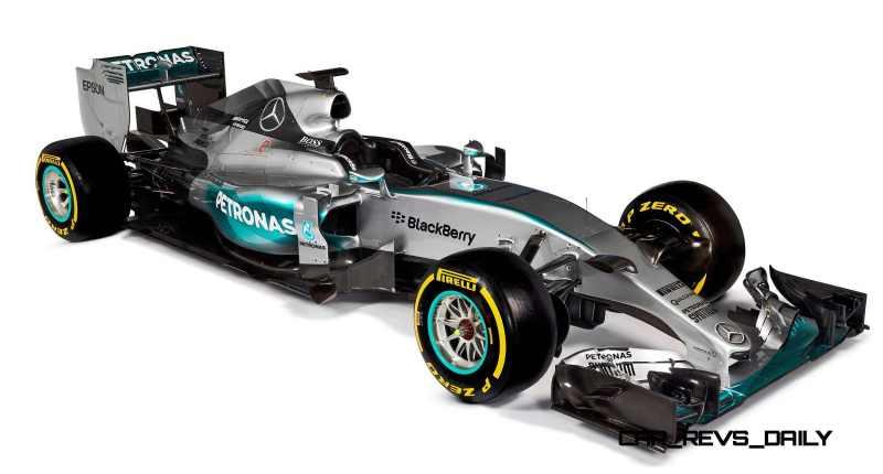 2015 F1 Cars Comparo - Infiniti RB11 vs McLaren-Honda MP4-30 vs AMG W06 vs Ferrari SF15T 43