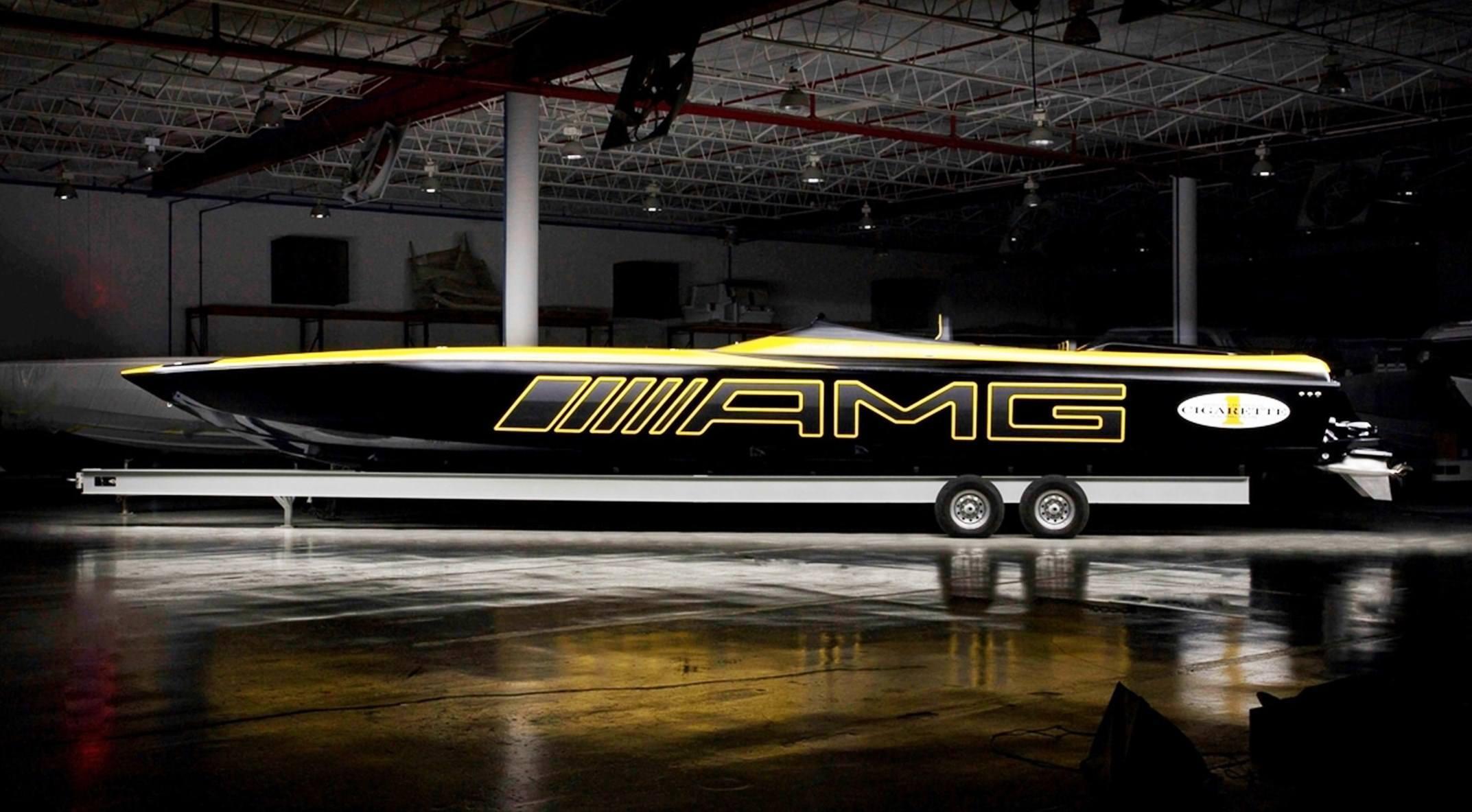 2015 MercedesAMG GT S Cigarette Boat