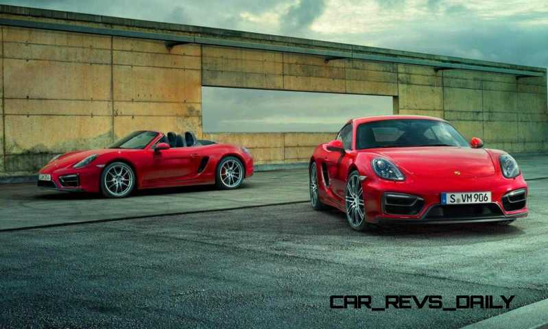 2015 Porsche Boxster and Cayman GTS 35