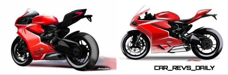 41-03 1299 PANIGALE SKETCH
