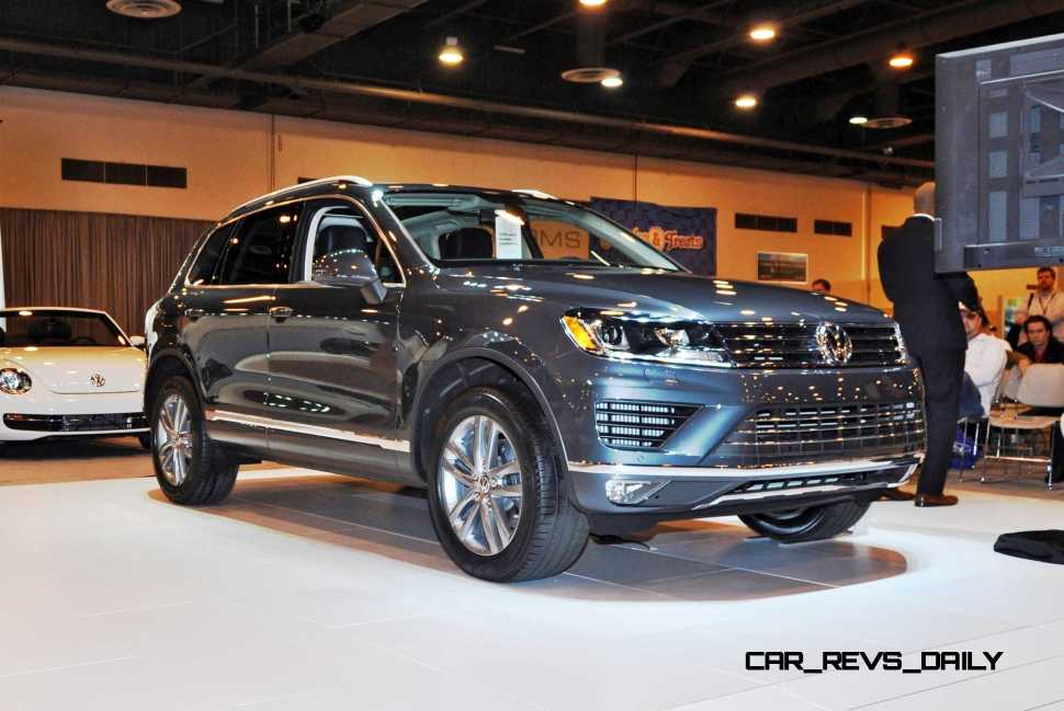 First Drive Review - 2015 Volkswagen Touareg TDI Feels Light, Quick and Lux 14