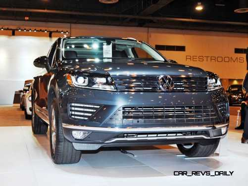First Drive Review - 2015 Volkswagen Touareg TDI Feels Light, Quick and Lux 18