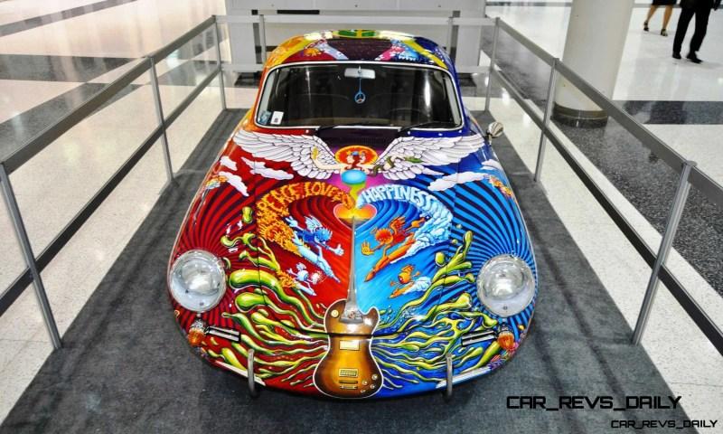 Houston Auto Show Curio - Porsche 356 Art Car Is Janis Joplin Homage 8