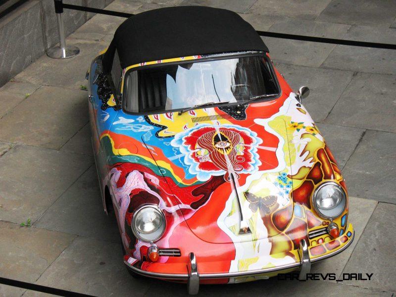 Houston Auto Show Curio - Porsche 356 Art Car Is Janis Joplin Homage 9