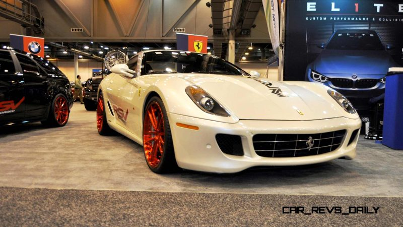 Houston Auto Show Tuners - RSV Forged Wheels, Hoosier Drag Mustang GT and ADV1 911 GT3 18