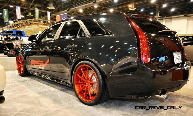 Houston Auto Show Tuners - RSV Forged Wheels, Hoosier Drag Mustang GT and ADV1 911 GT3 8