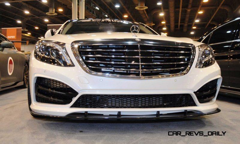 Houston Tuner Showcase - 2015 Mercedes-Benz S-Class by MODESTA Glass Coatings Ft. Prior Design Bodykits 5