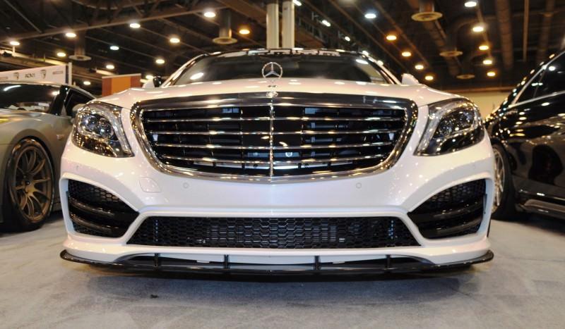 Houston Tuner Showcase - 2015 Mercedes-Benz S-Class by MODESTA Glass Coatings Ft. Prior Design Bodykits 6