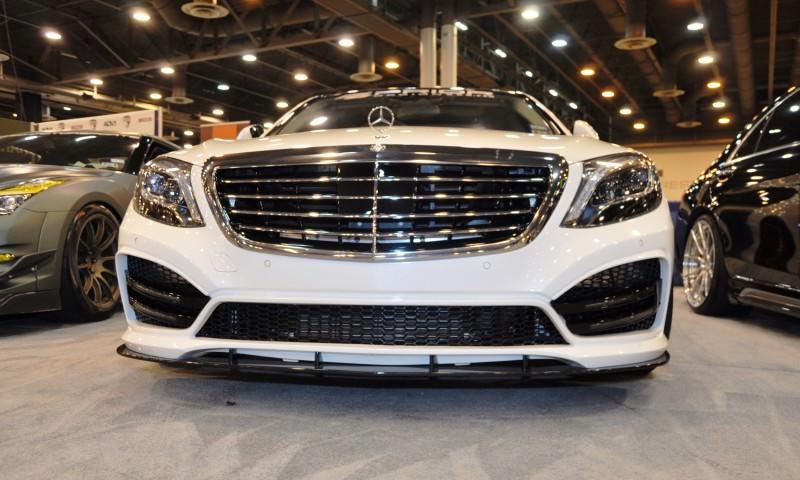Houston Tuner Showcase - 2015 Mercedes-Benz S-Class by MODESTA Glass Coatings Ft. Prior Design Bodykits 7