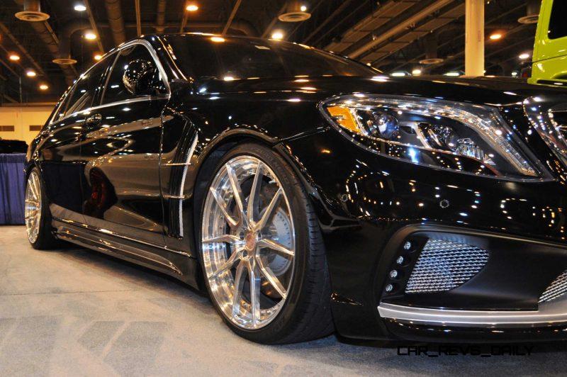 Houston Tuner Showcase - 2015 Mercedes-Benz S-Class by MODESTA Glass Coatings Ft. Prior Design Bodykits 8